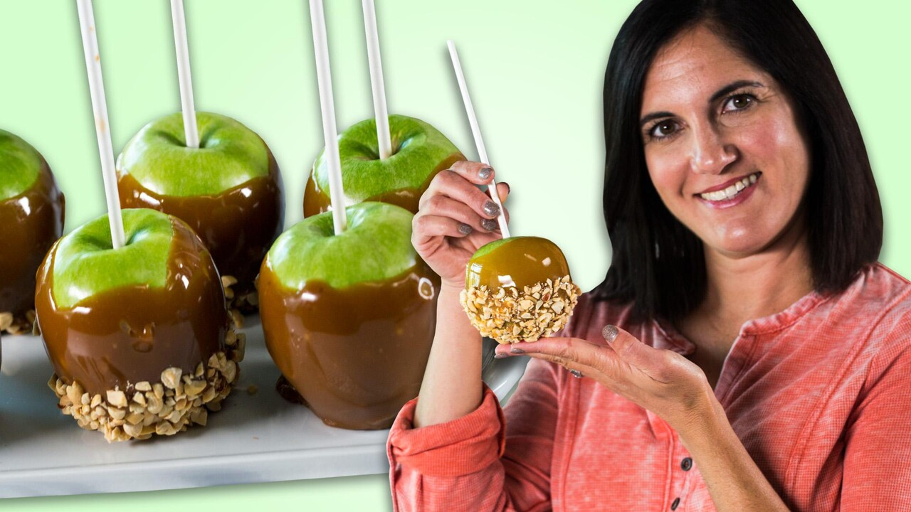 Classic Caramel Apples Recipe Myrecipes