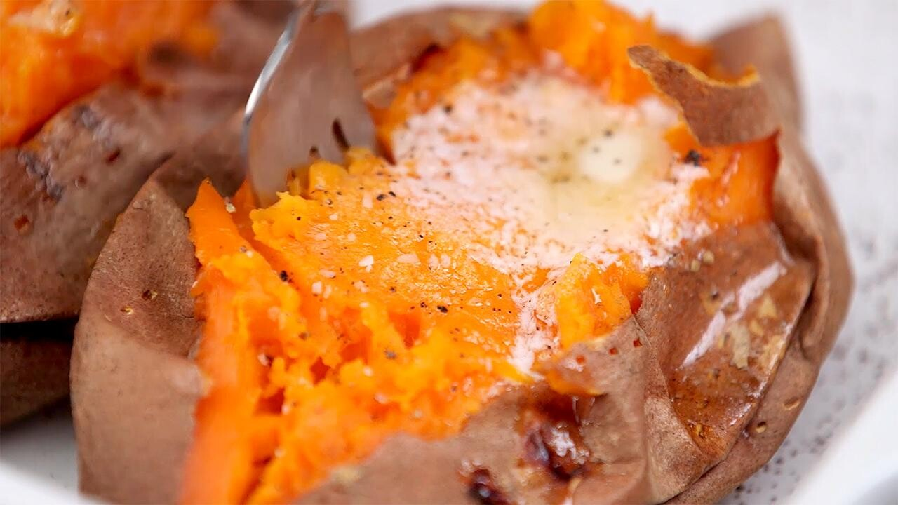 Baked Sweet Potatoes Recipe Real Simple
