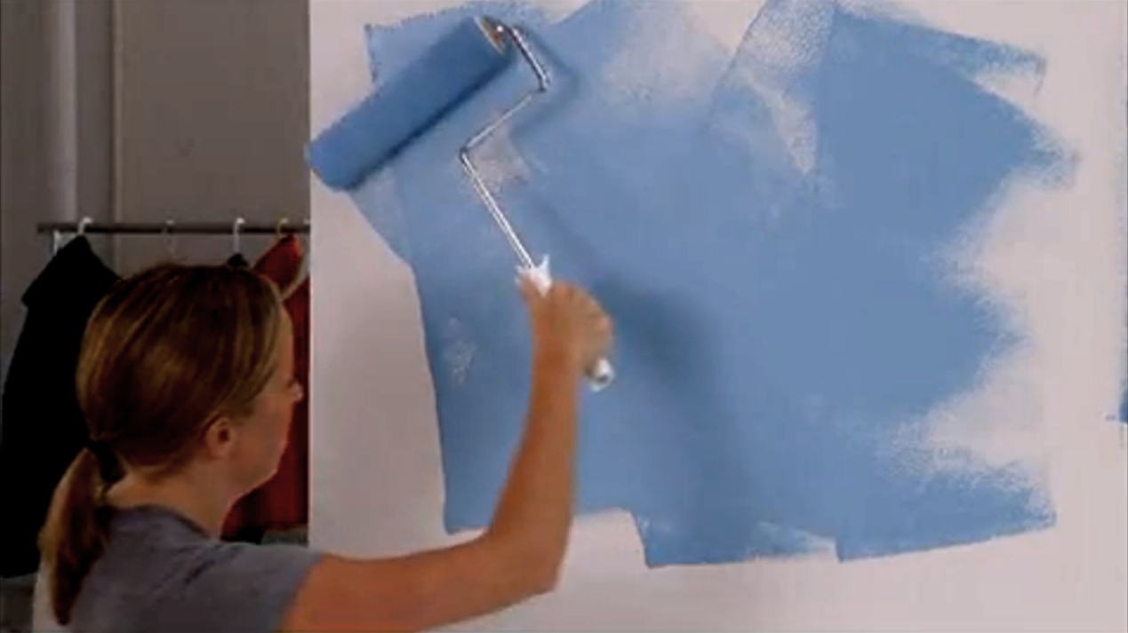 How to Paint a Wall Video and Steps | Real Simple