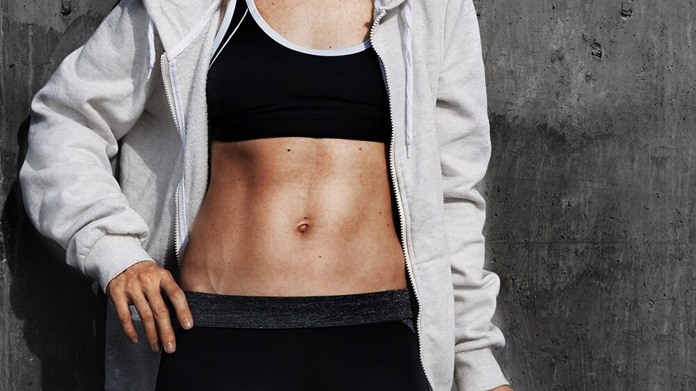 fast abs burning fat