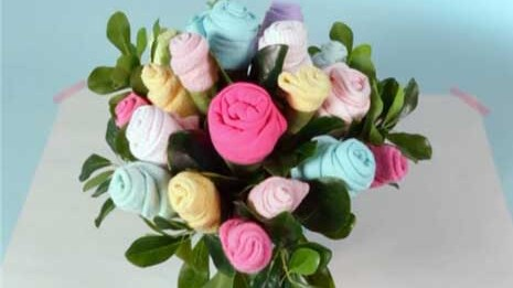 Baby Shower Ideas How To Make A Onesie Bouquet Parents