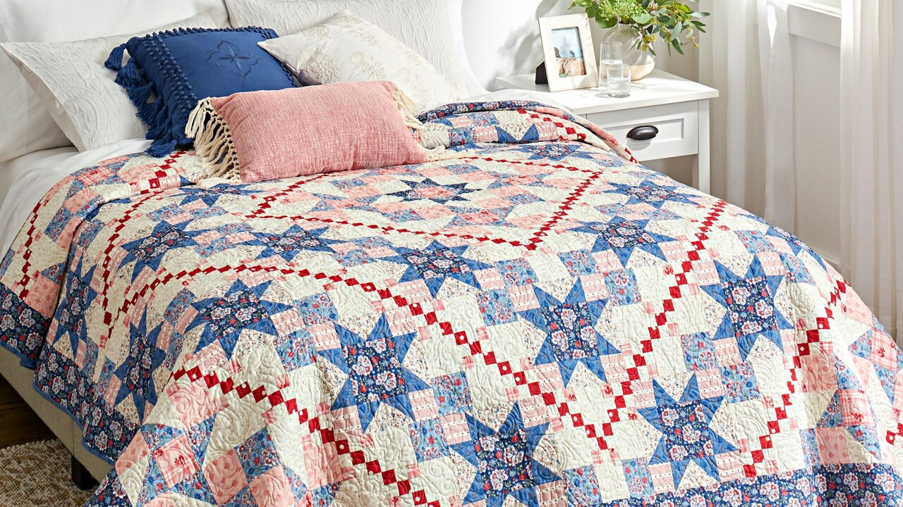 How to Style a Bed Quilt  AllPeopleQuilt.com