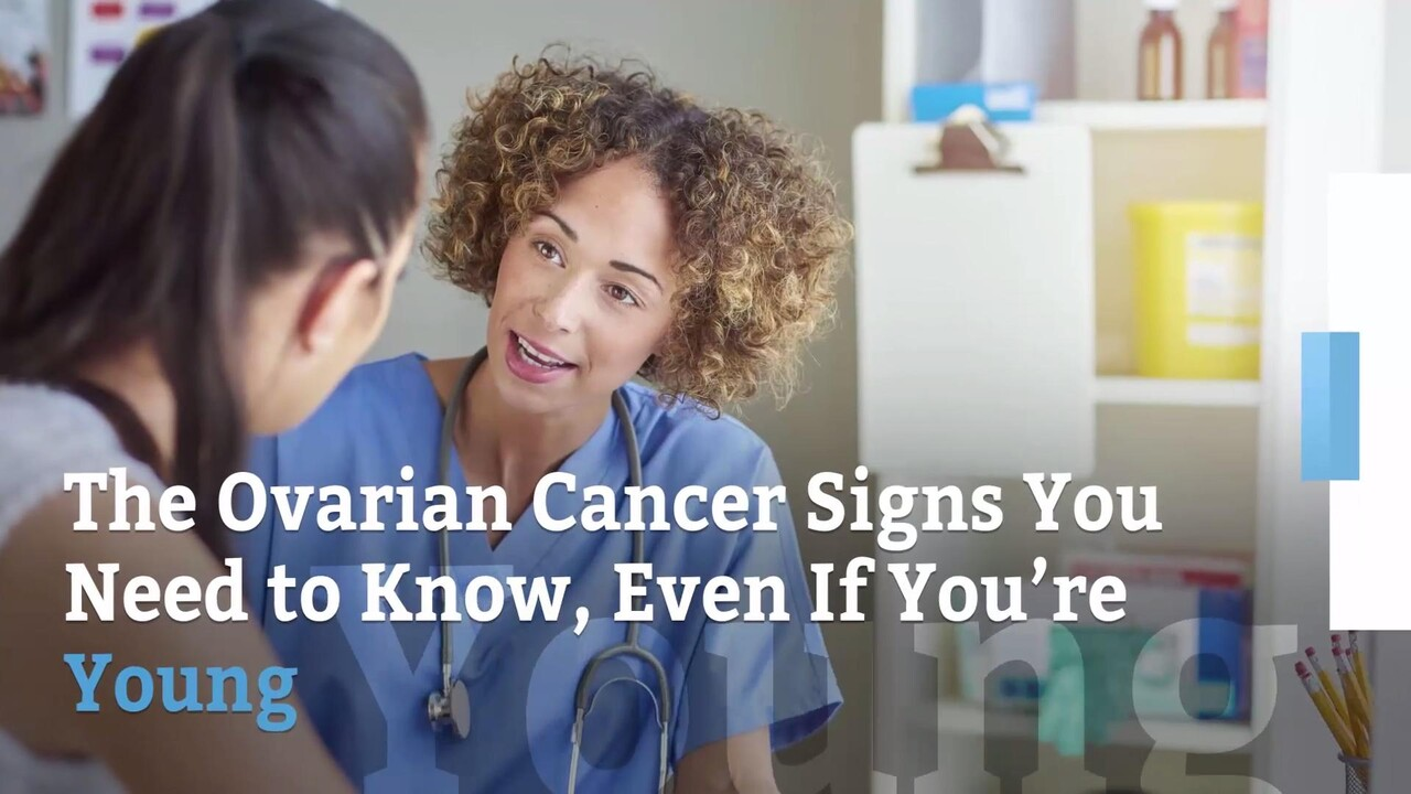The Ovarian Cancer Symptoms You Need To Know Even If You Re Young Health Com