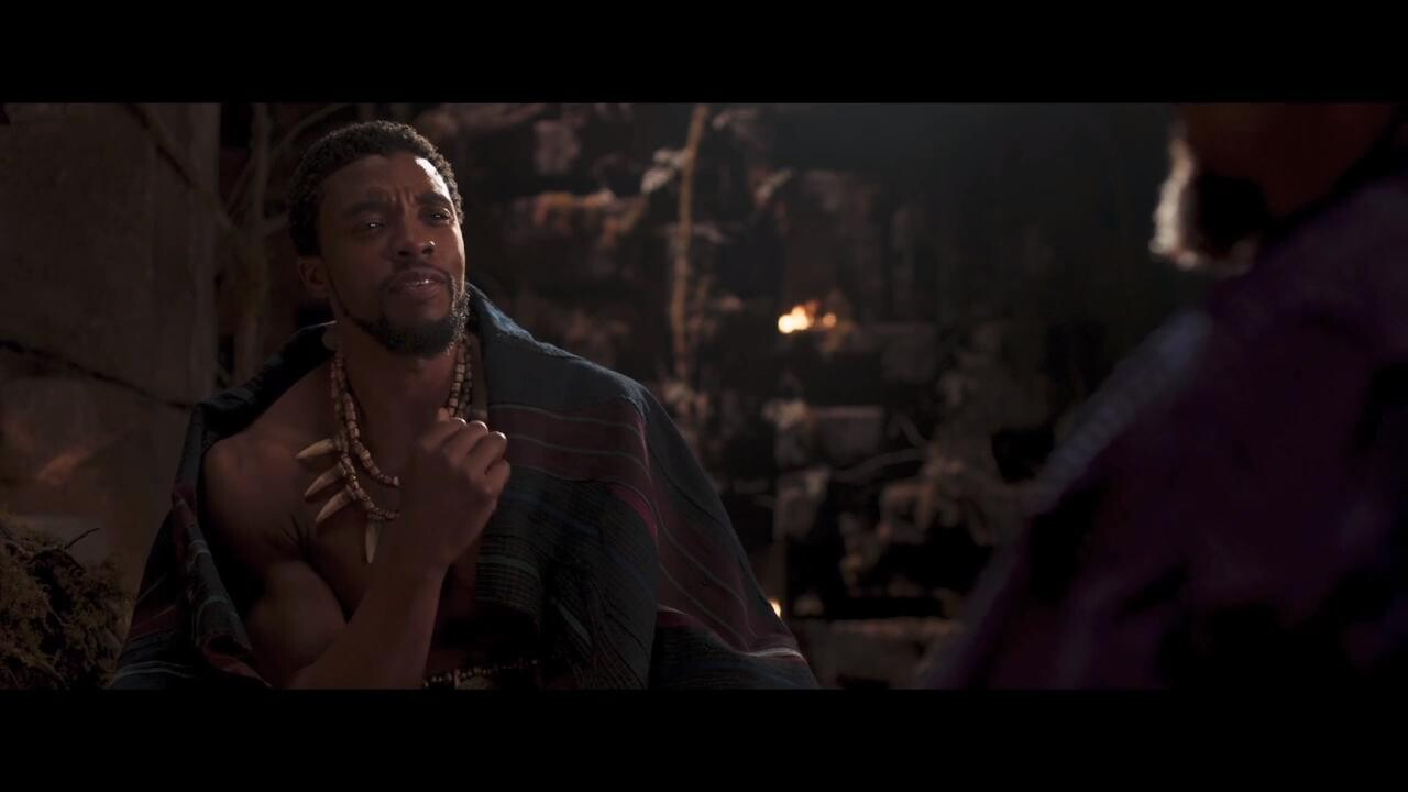 Black Panther Watch An Emotional Deleted Scene Ew Com