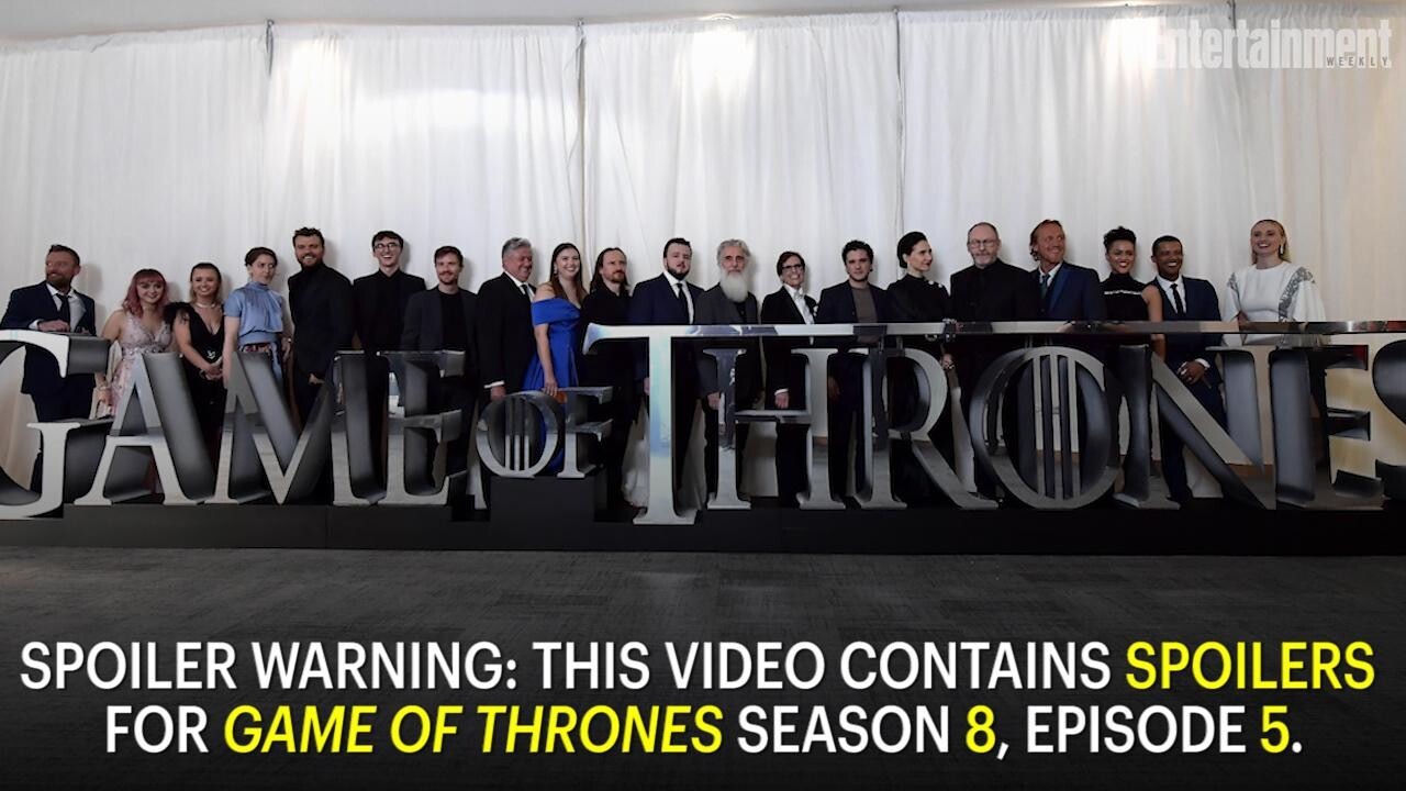 Game Of Thrones Episode The Bells Sets New Ratings Record Ew Com
