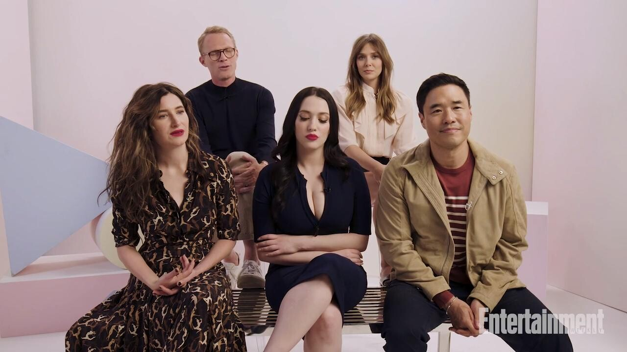WandaVision cast says bonkers show will go where Marvel films couldn't | EW.com