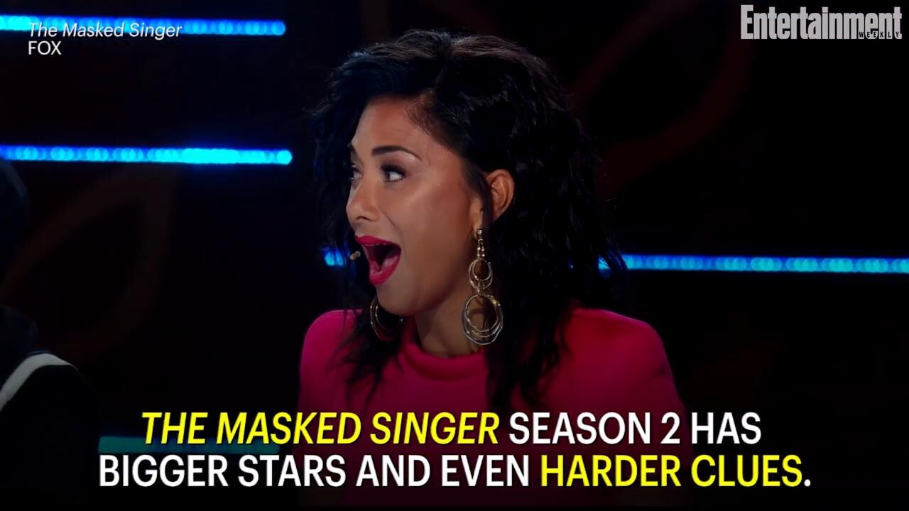 The Masked Singer The Tree Ana Gasteyer Accomplished Her Mission Ew Com