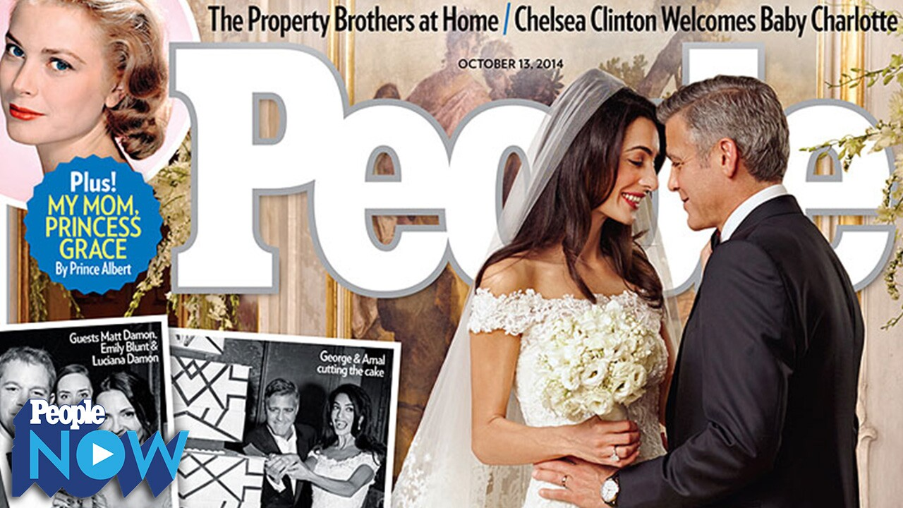 George Clooney And Amal Alamuddin Wedding Pictures First Look People Com