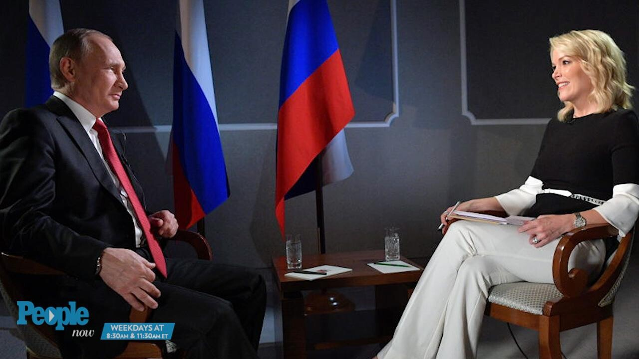 Megyn Kelly Vladimir Putin Interview Airs On Nbc Ew Com