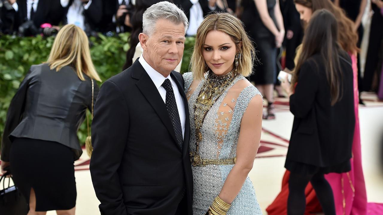 David Foster And Yolanda Hadid Don T Talk Amid Katharine Mcphee Engagement People Com