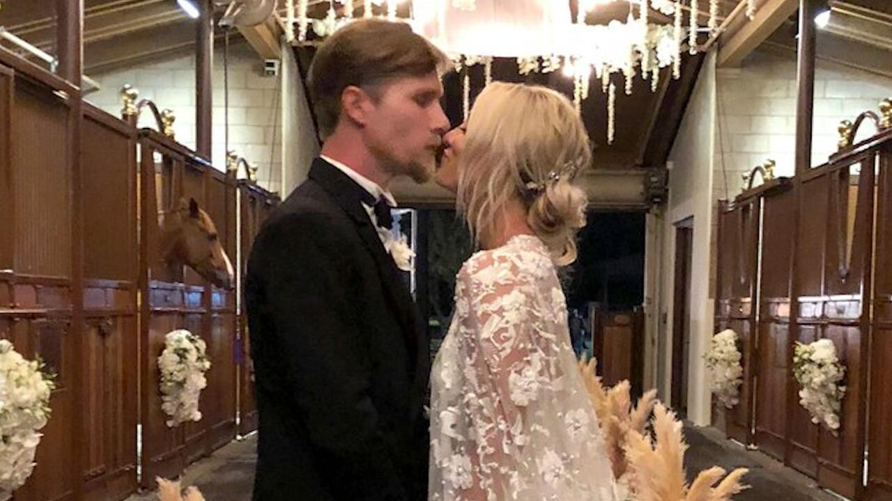 Kaley Cuoco And Karl Cook Deliver Wedding Vows In Video People Com