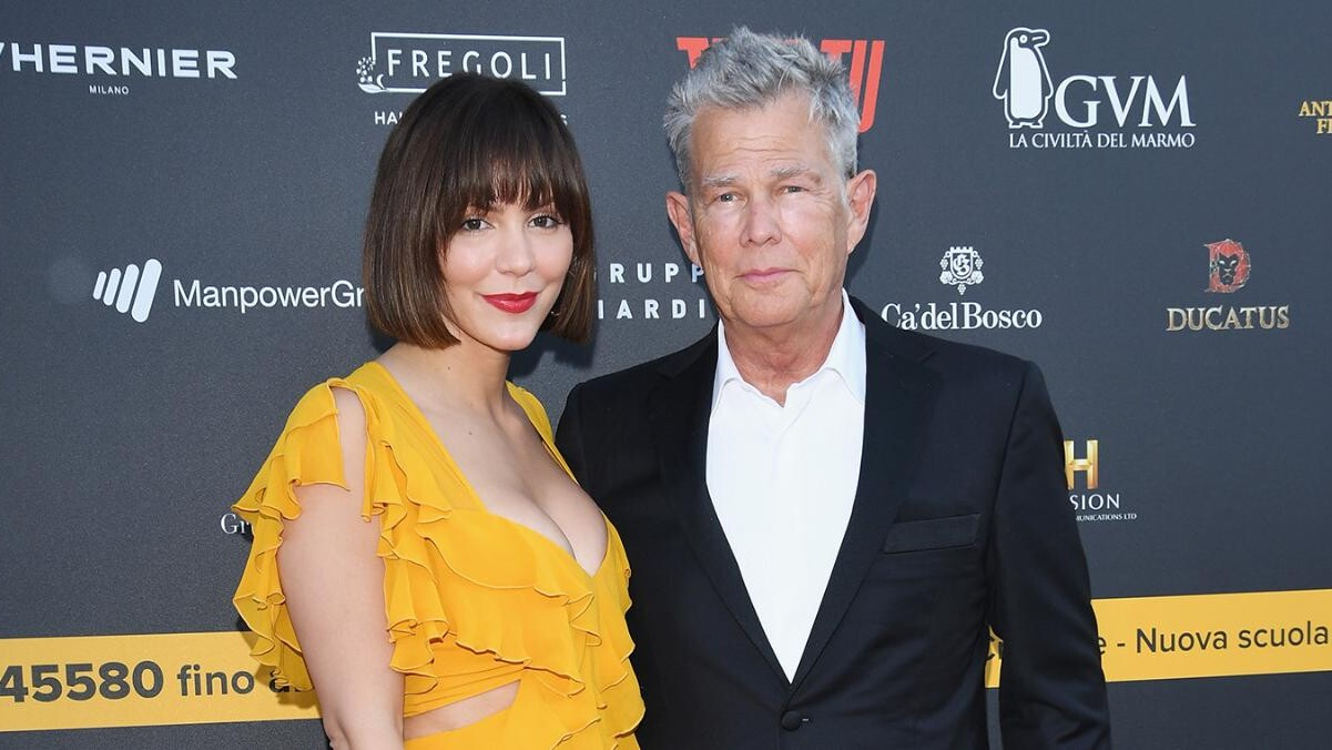 Katharine Mcphee Gushes About Fiance David Foster At Breast Cancer Research Foundation S Hot Pink Party People Com