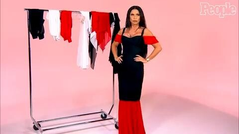 Real Housewives Of Dallas S Leeanne Locken Made A Dress That Can Be Worn 175 Ways Watch Her Model It People Com
