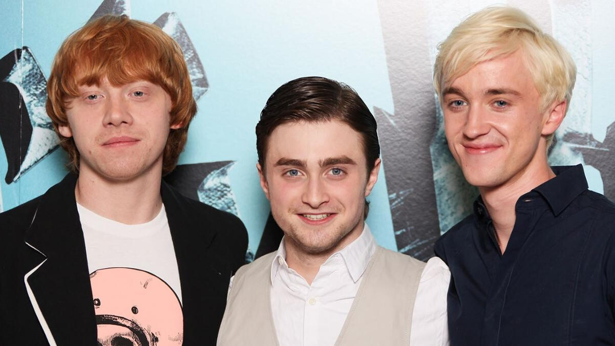Rupert Grint Says He Saw A Spark Between Emma Watson And Tom Felton People Com