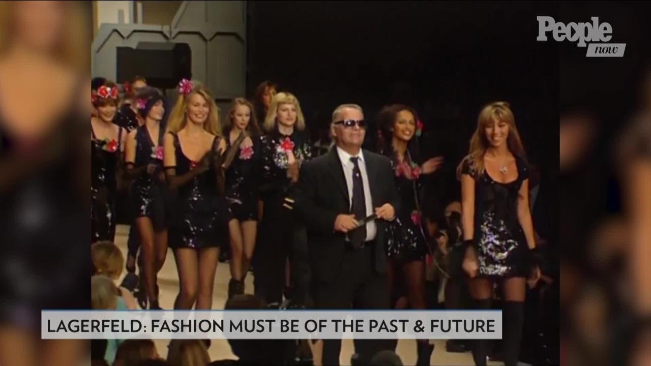 Kim Kardashian Diane Kruger More Pay Tribute To Karl Lagerfeld Following Death Ew Com