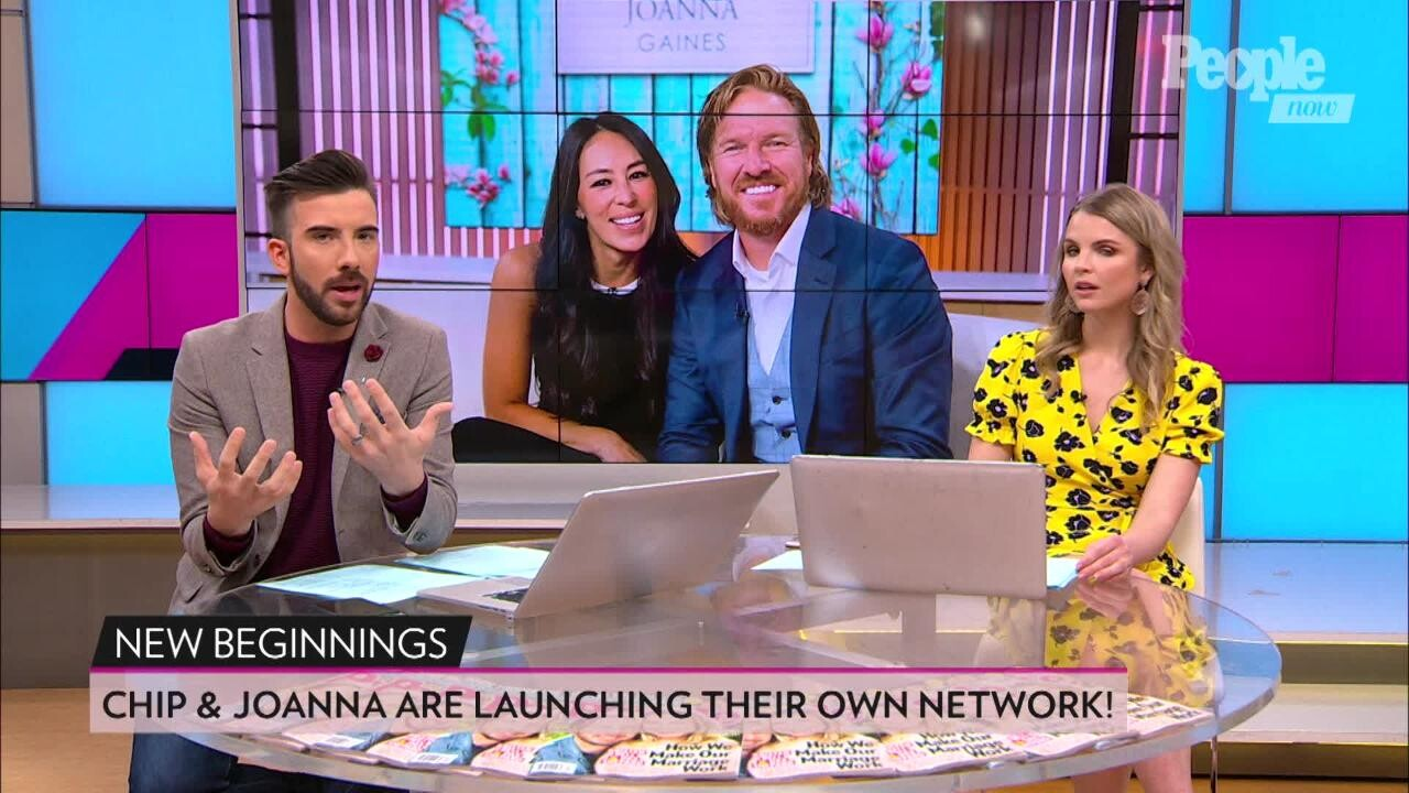 Chip And Joanna Gaines S Tv Network Exclusive Details People Com