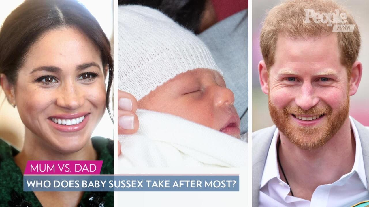 baby archie will have strong bond with prince harry people com meghan markle and prince harry debut their royal baby