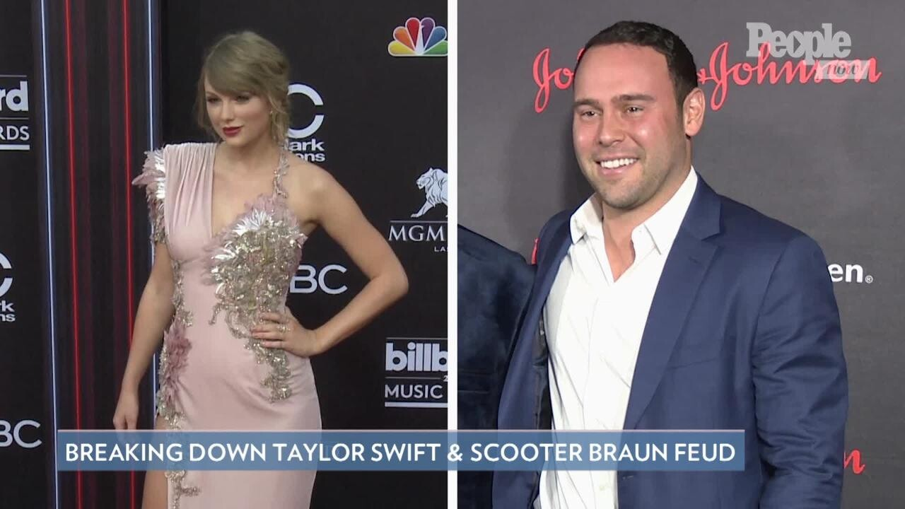 Scooter Braun Addresses Taylor Swift Feud Not Based On Any Truth People Com