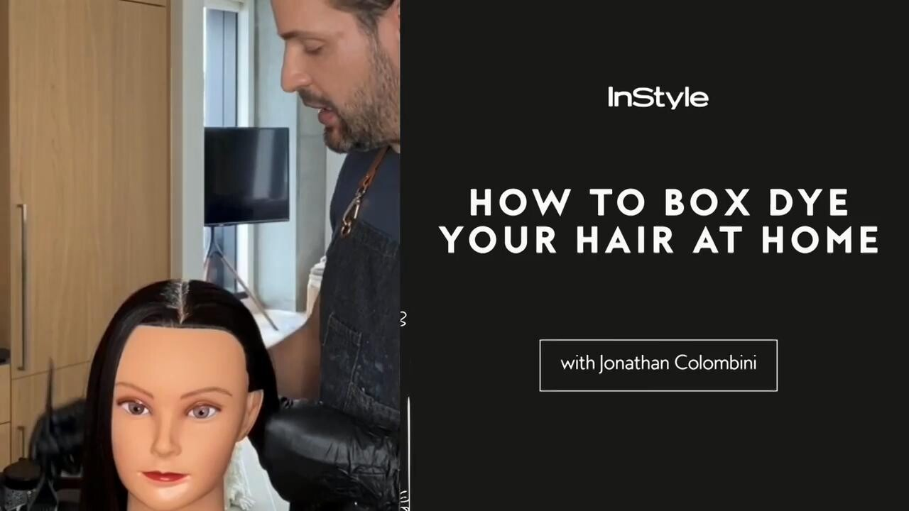 What To Know Before Dyeing Your Own Hair Hair Dyeing Tips How To Color Hair At Home Instyle