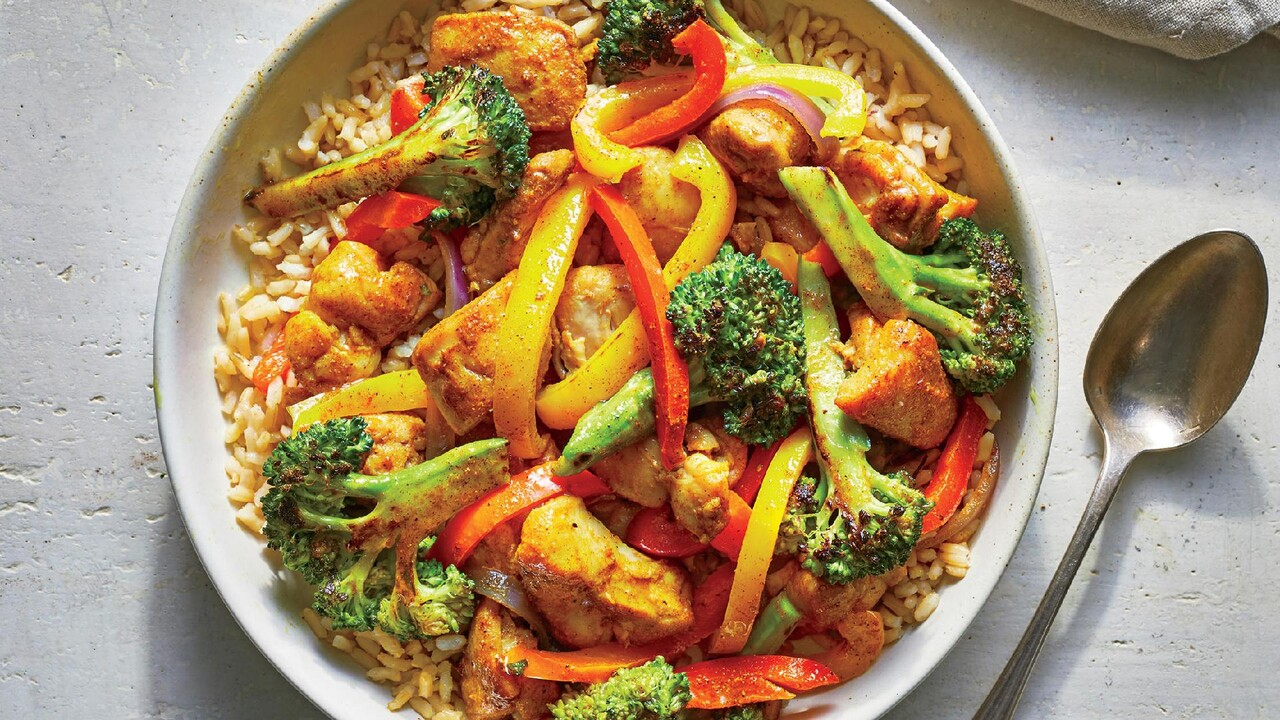 Make This Healthy Chicken Curry Stir Fry In 25 Minutes Recipe Cooking Light
