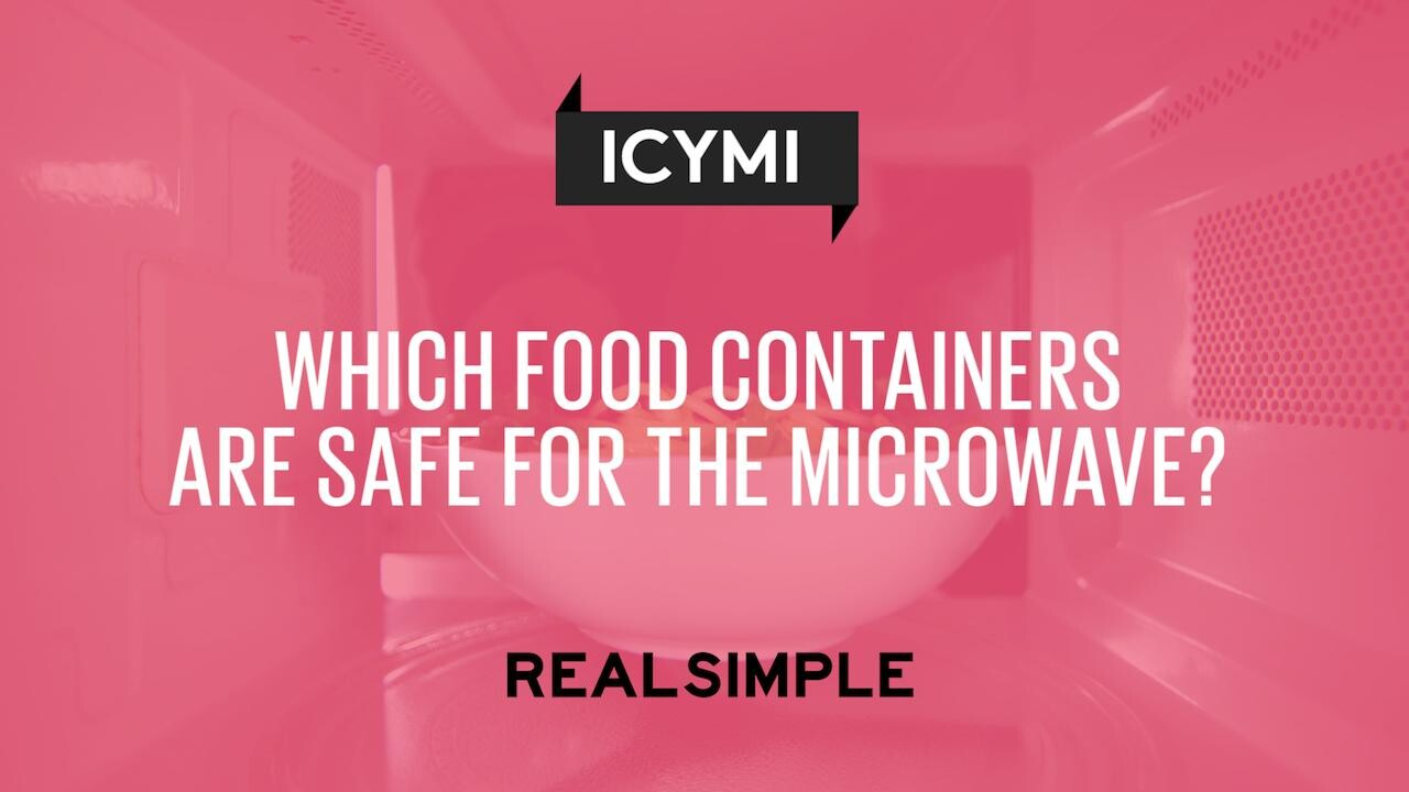 Which Food Containers Are Safe For The