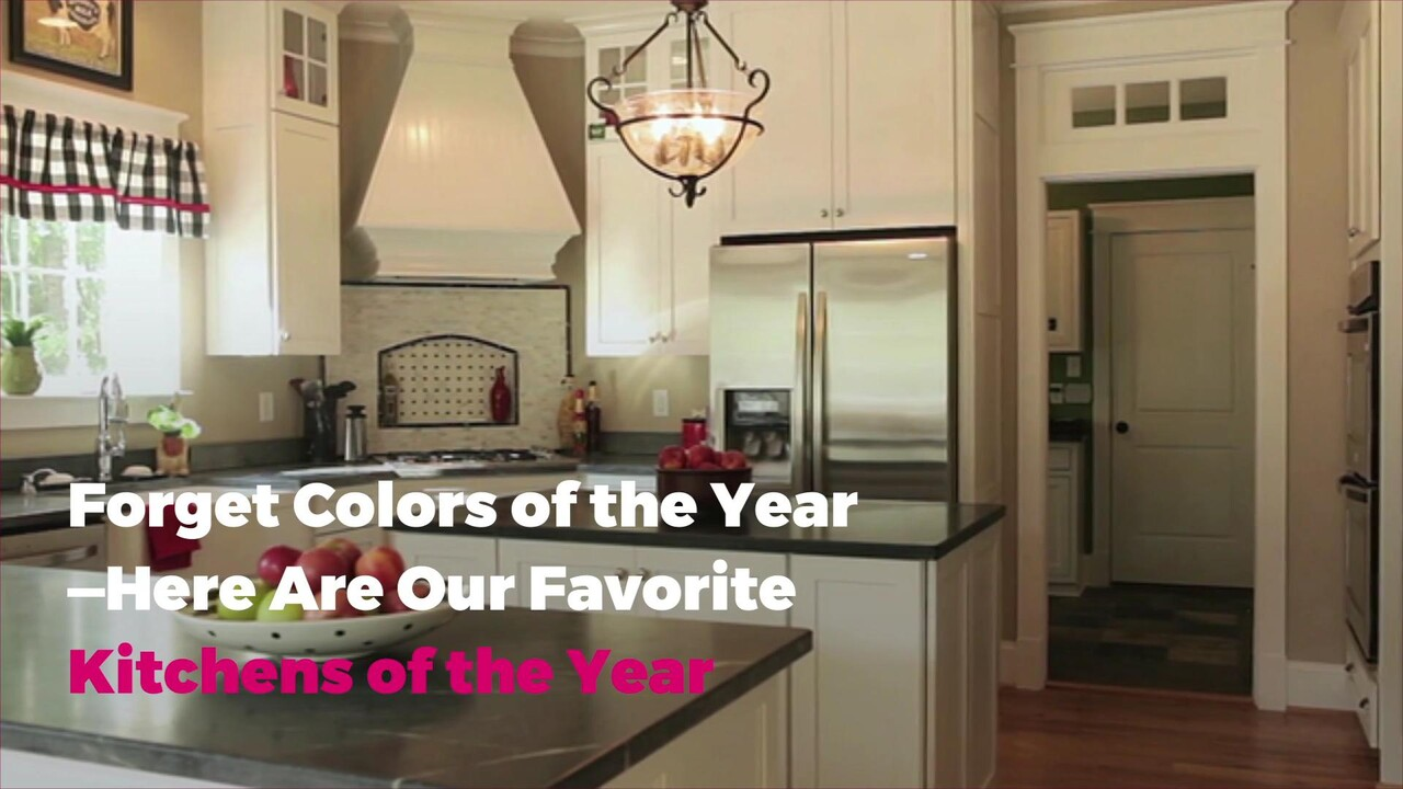 Forget Color Of The Year Here Are Our Favorite Kitchens 2019 Real Simple