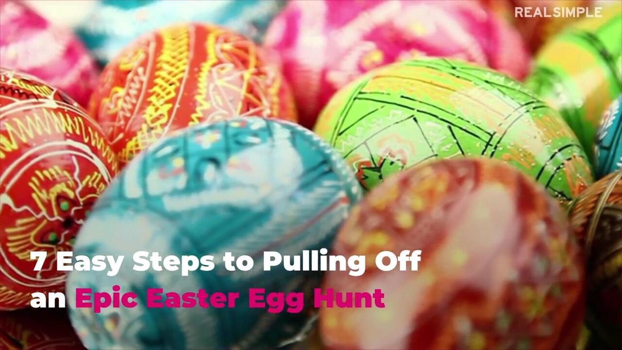 8 Easy Steps to Pulling Off an Epic Easter Egg Hunt