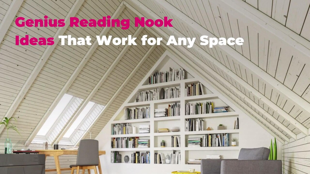 Reading Nook Ideas Book Nook Inspiration For Any Style And Space Real Simple