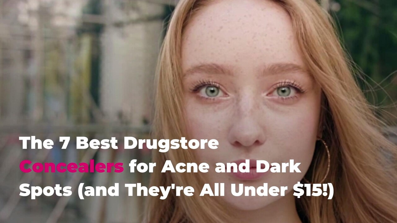 7 Best Drugstore Concealers For Acne And Dark Spots 2020 Real Simple