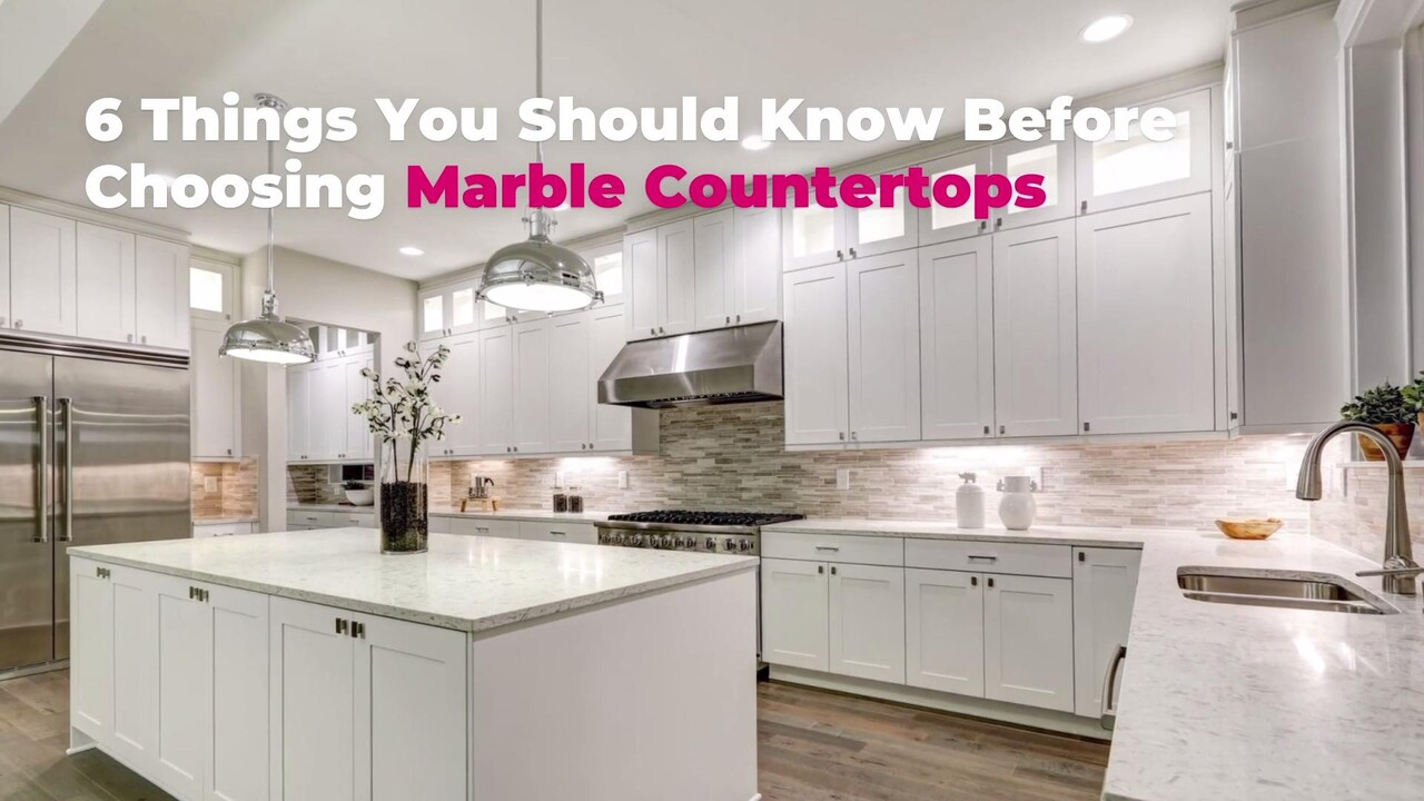 Marble Countertops Pros And Cons 6 Things To Know Before Choosing Marble Real Simple