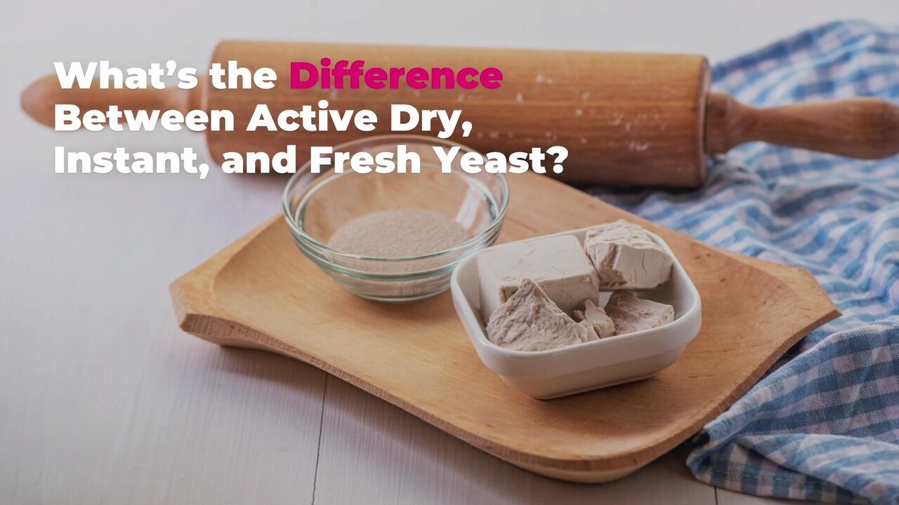 Types Of Yeast Instant Vs Active Dry Yeast Real Simple