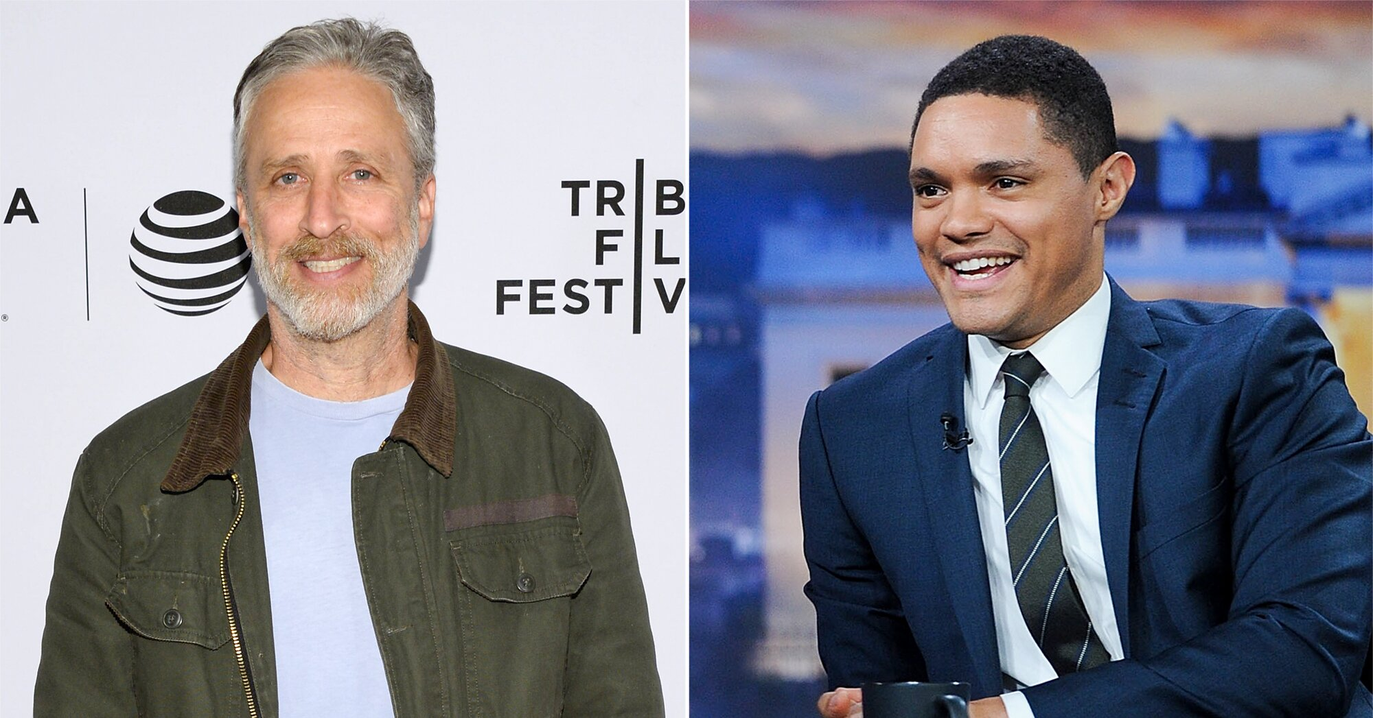 Jon Stewart shares how Trevor Noah elevated 'The Daily Show'
