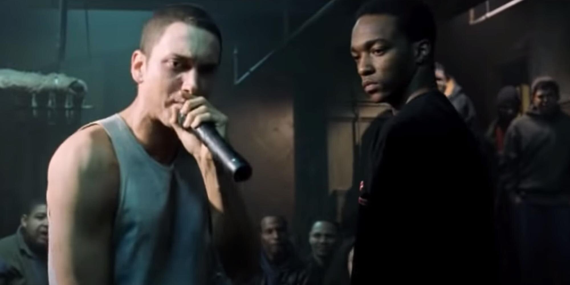 Anthony Mackie's Shakespearean training helped him tackle iconic 8 Mile rap battle | EW.com