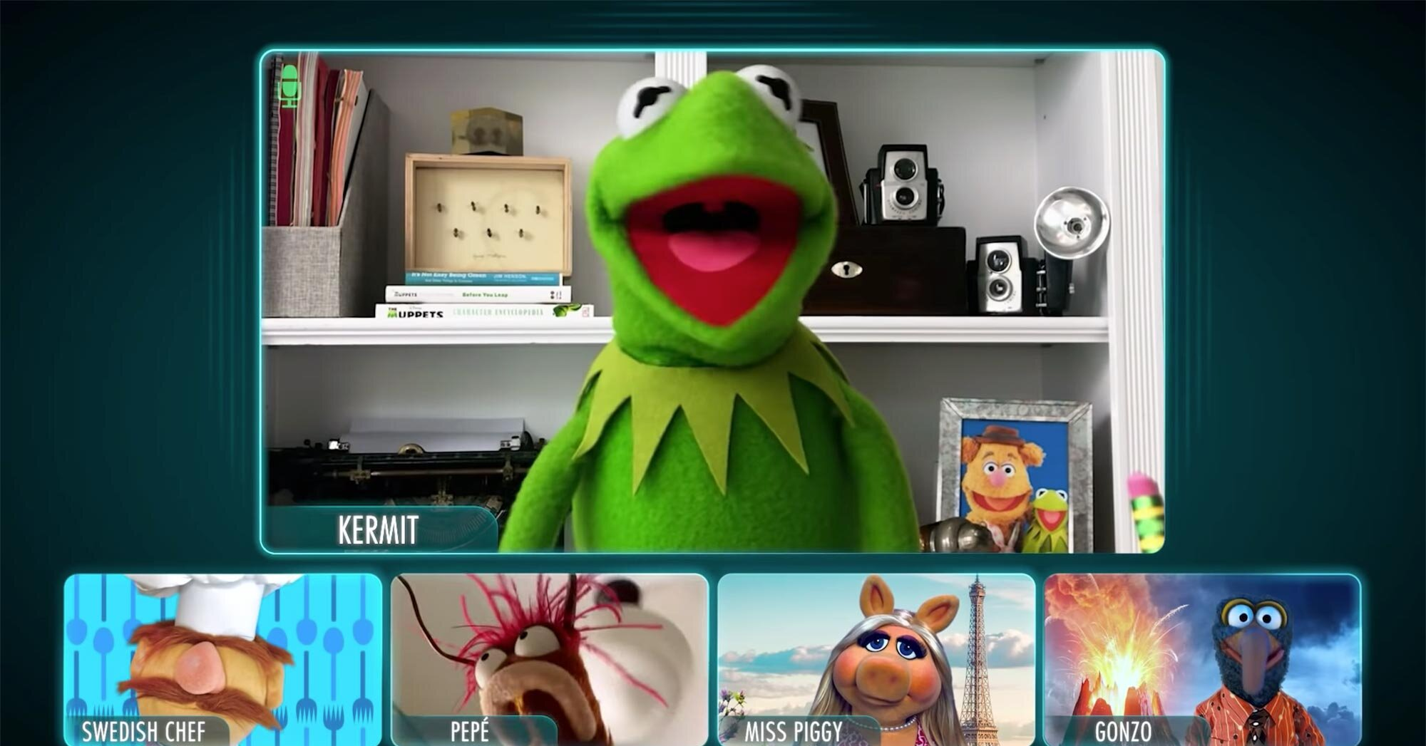 Entertainment News - Even the Muppets are having Zoom meetings in new trailer for Disney+ show thumbnail