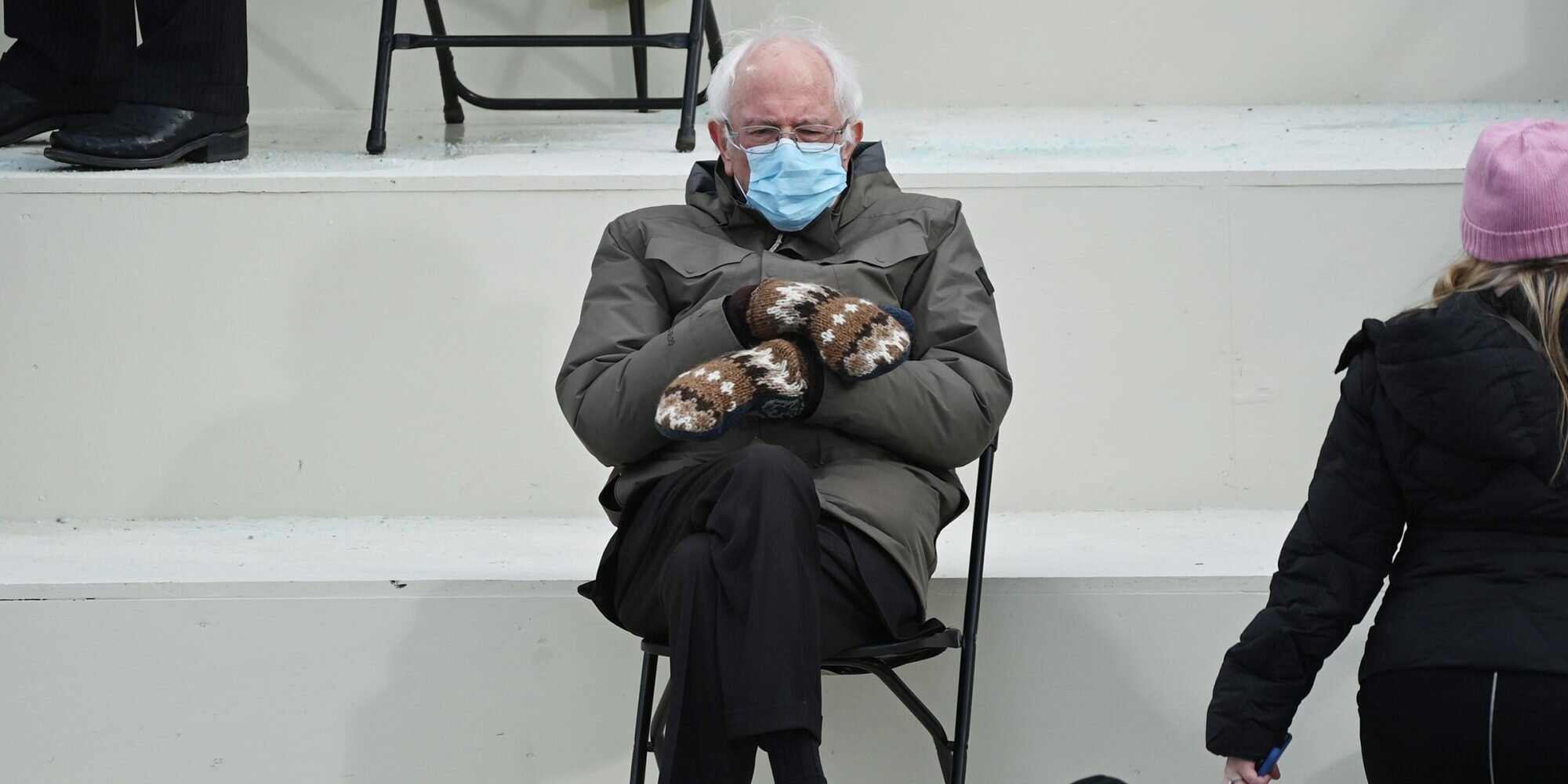 Bernie Sanders reacts to the viral inauguration memes: 'I was just sitting there trying to get warm'