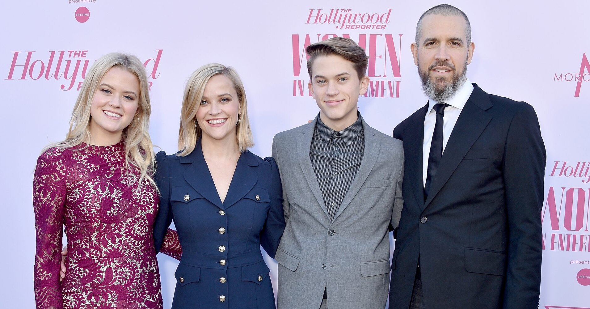 Reese Witherspoon Shared a Thanksgiving Photo with Her Look-Alike Kids