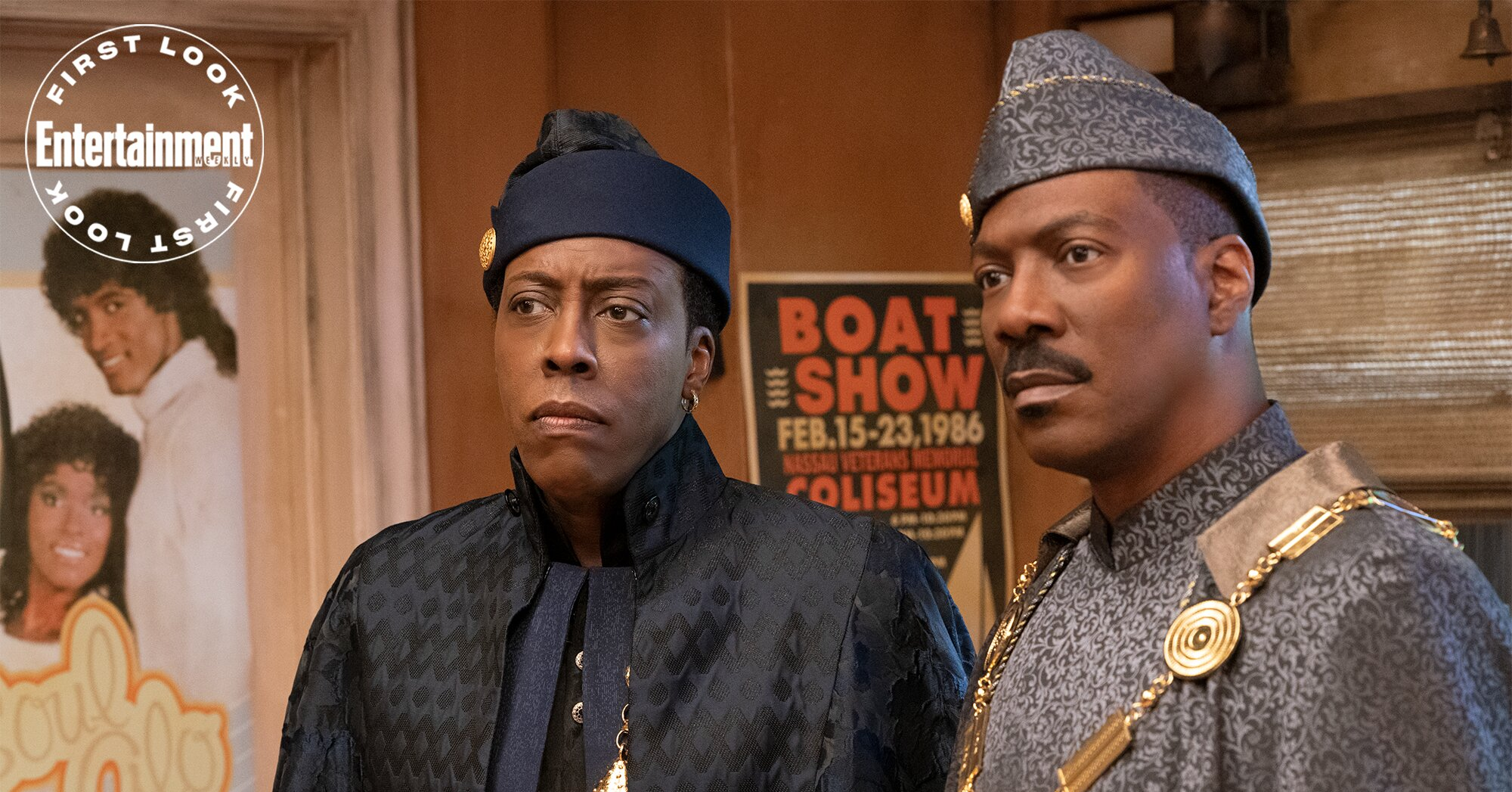 Eddie Murphy and Arsenio Hall reunite in 'Coming 2 America' first look