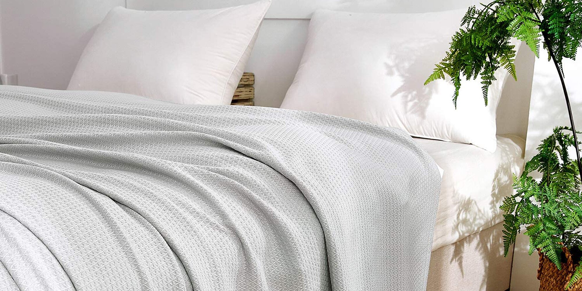 This Cooling Bamboo Blanket Is a 'Game Changer' for Hot Summer Nights-and It's Just $28