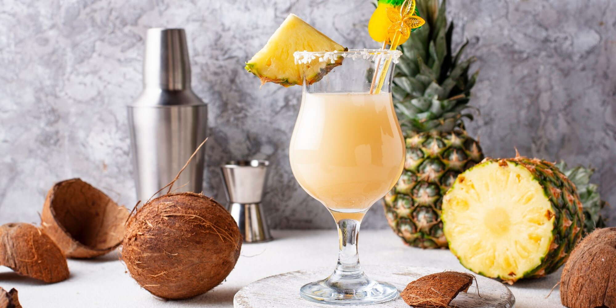 This Piña Colada Recipe Will Make You Feel Like You're on Vacation