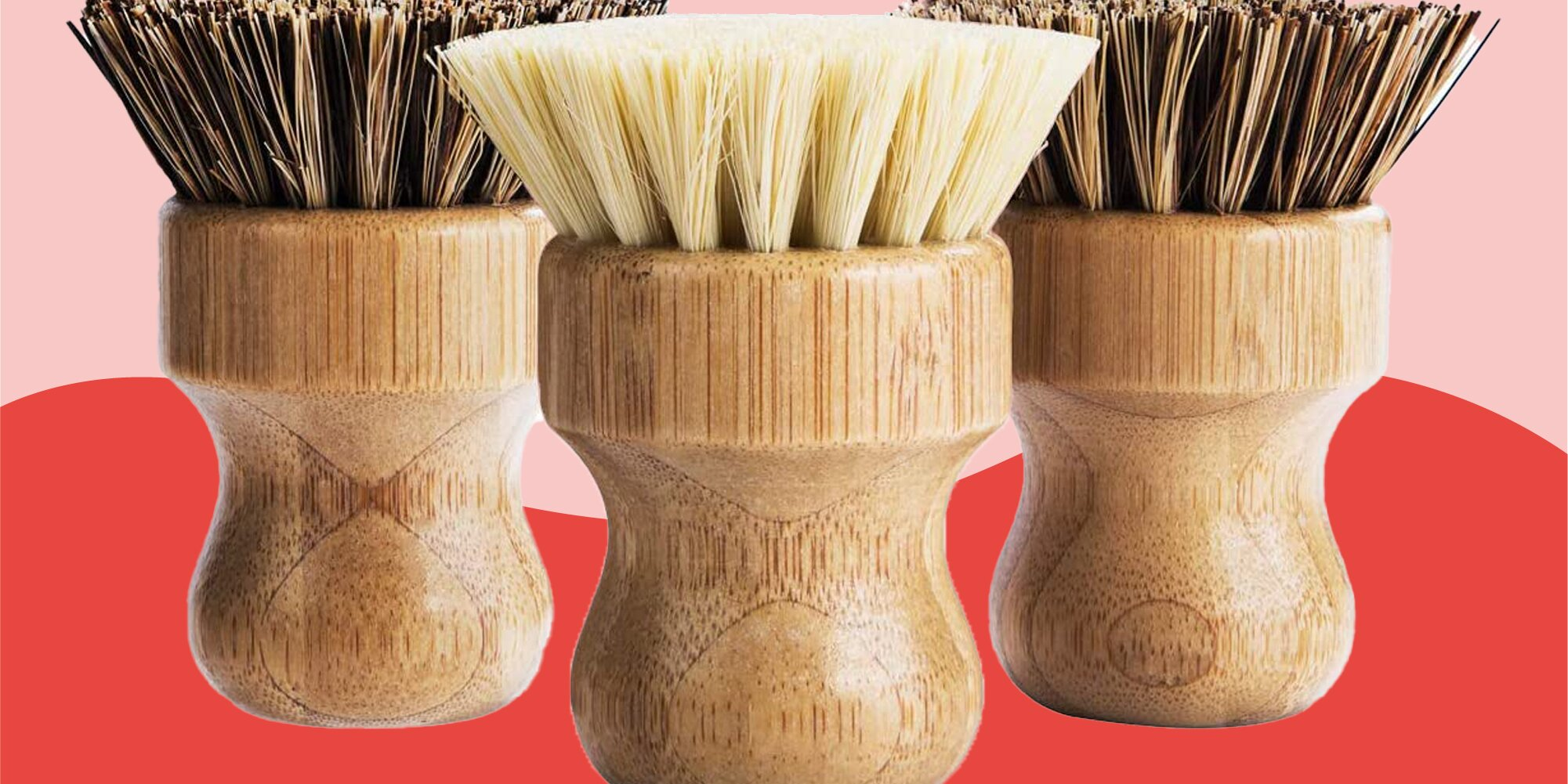 These Scrub Brushes Can Tackle Anything Stuck on Your Pots and Pans—and Look Great While Doing It