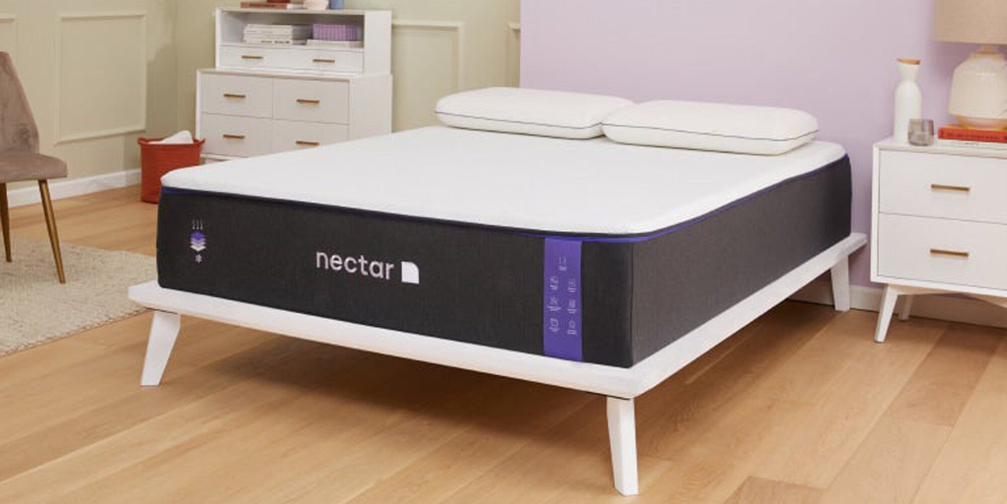 I'm a Hot Sleeper, and I Stay Cool All Night Thanks to This Memory Foam Mattress