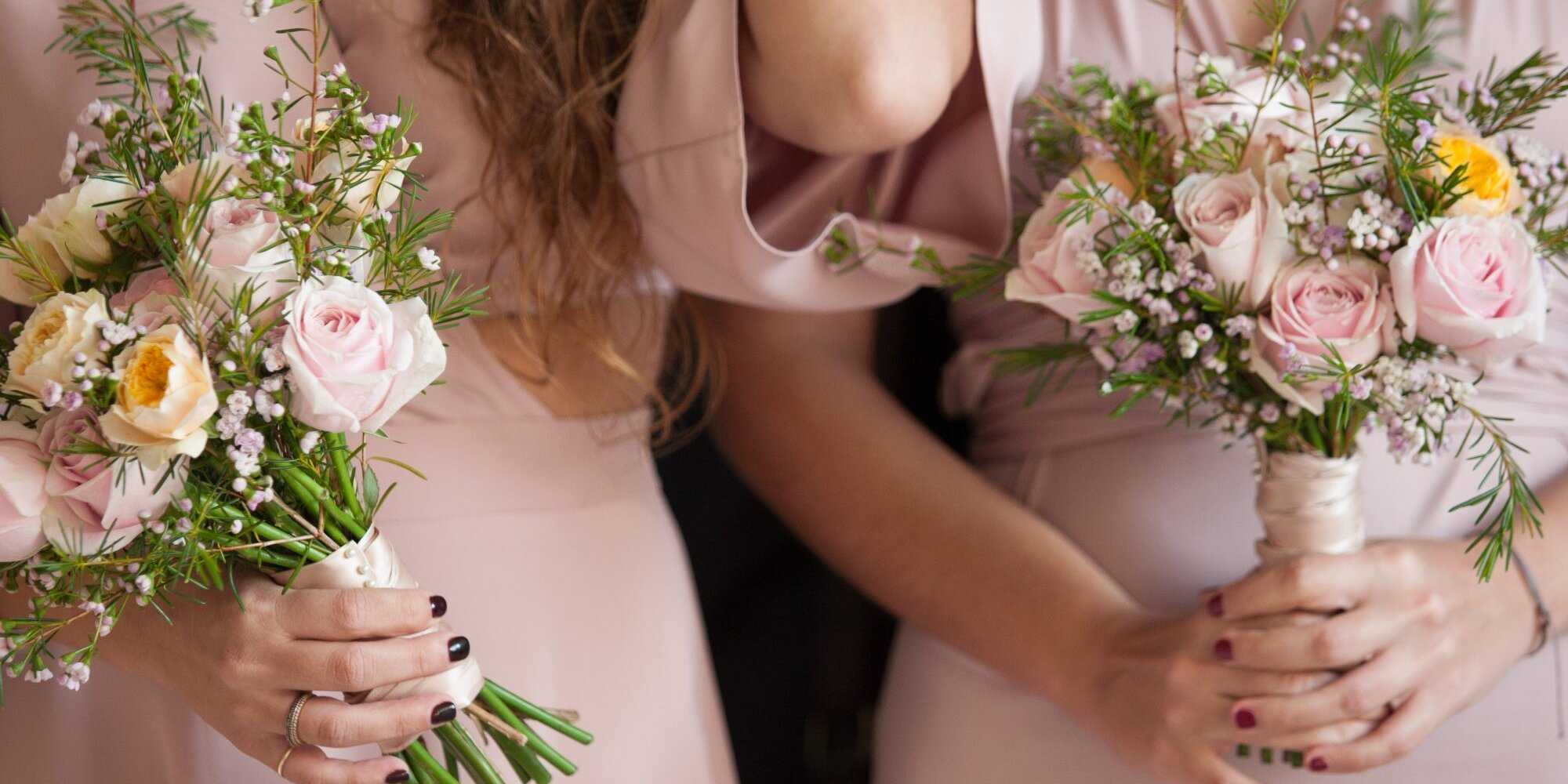 This Is the Reason Bridesmaids All Wear the Same Color at Weddings