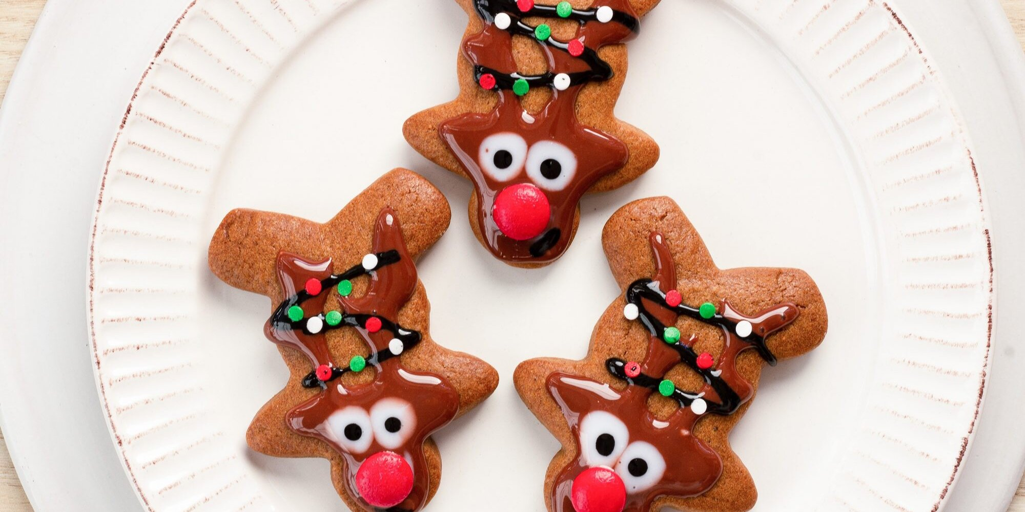 how to decorate gingerbread reindeer