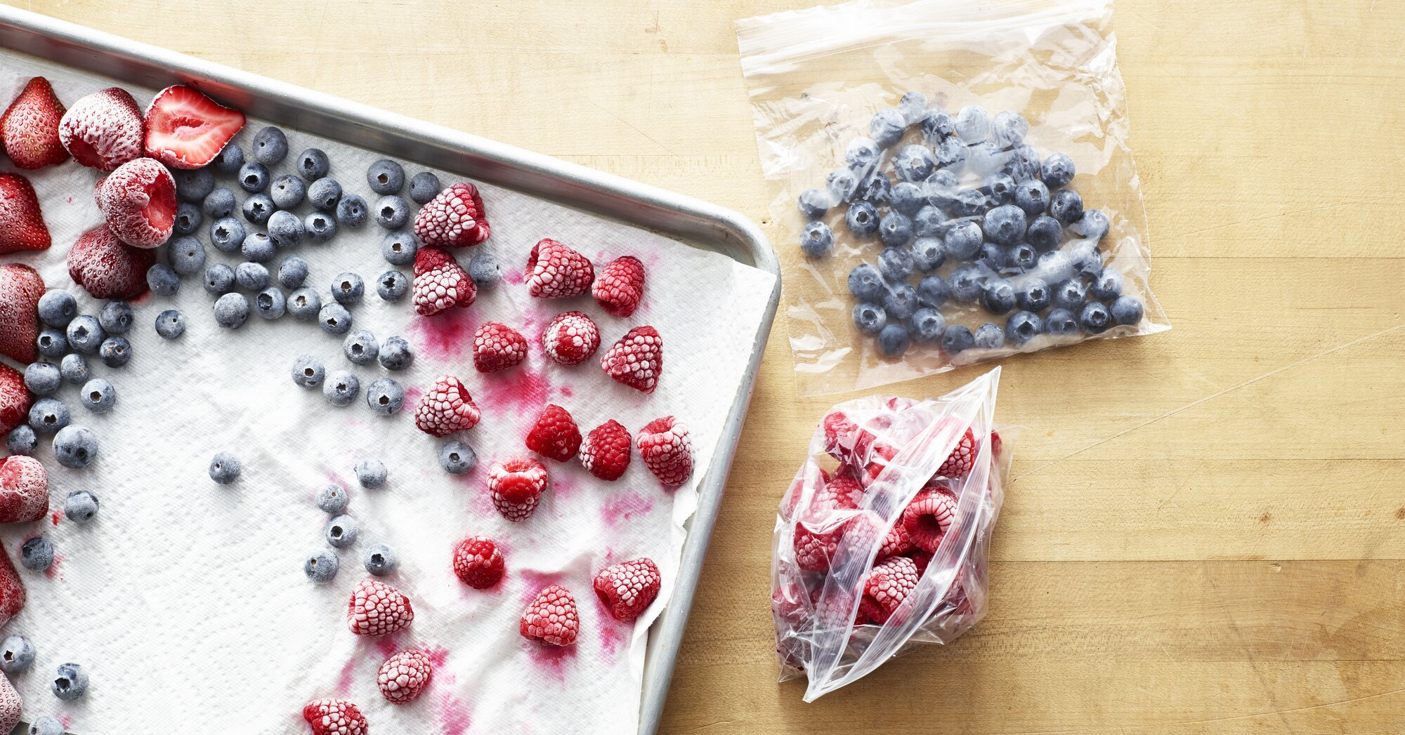 The Best Way to Freeze Blueberries