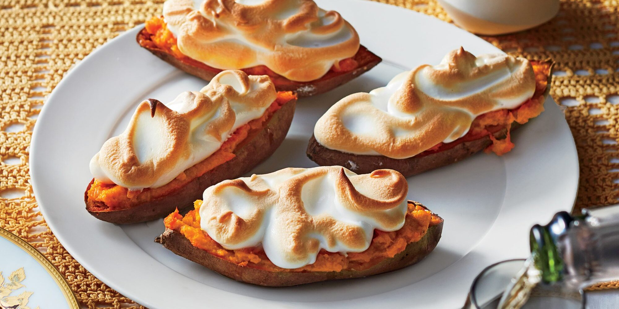 Stuffed Sweet Potatoes With Toasted Meringue Recipe | Cooking Light