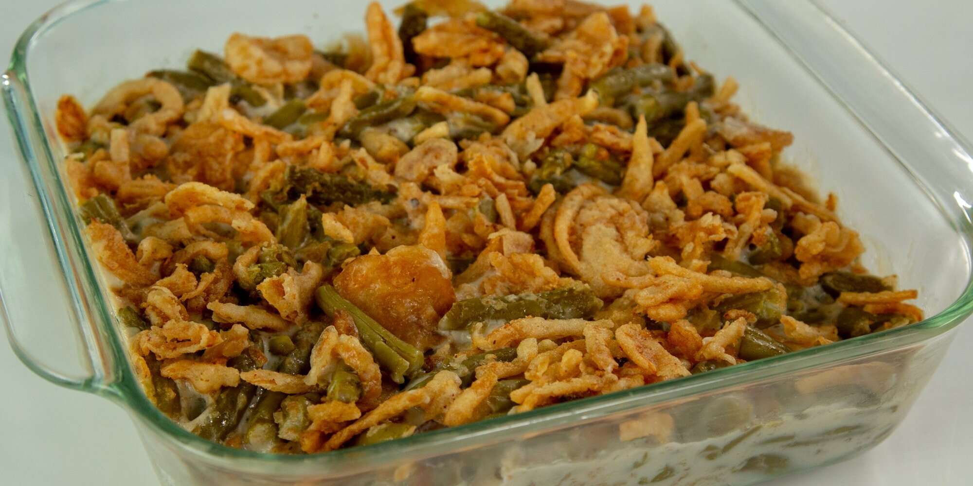 Microwave Green Bean Casserole Recipe   MyRecipes