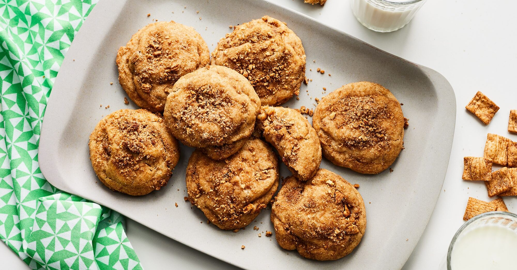 Cinnamon Toast Crunch Snickerdoodles Recipe