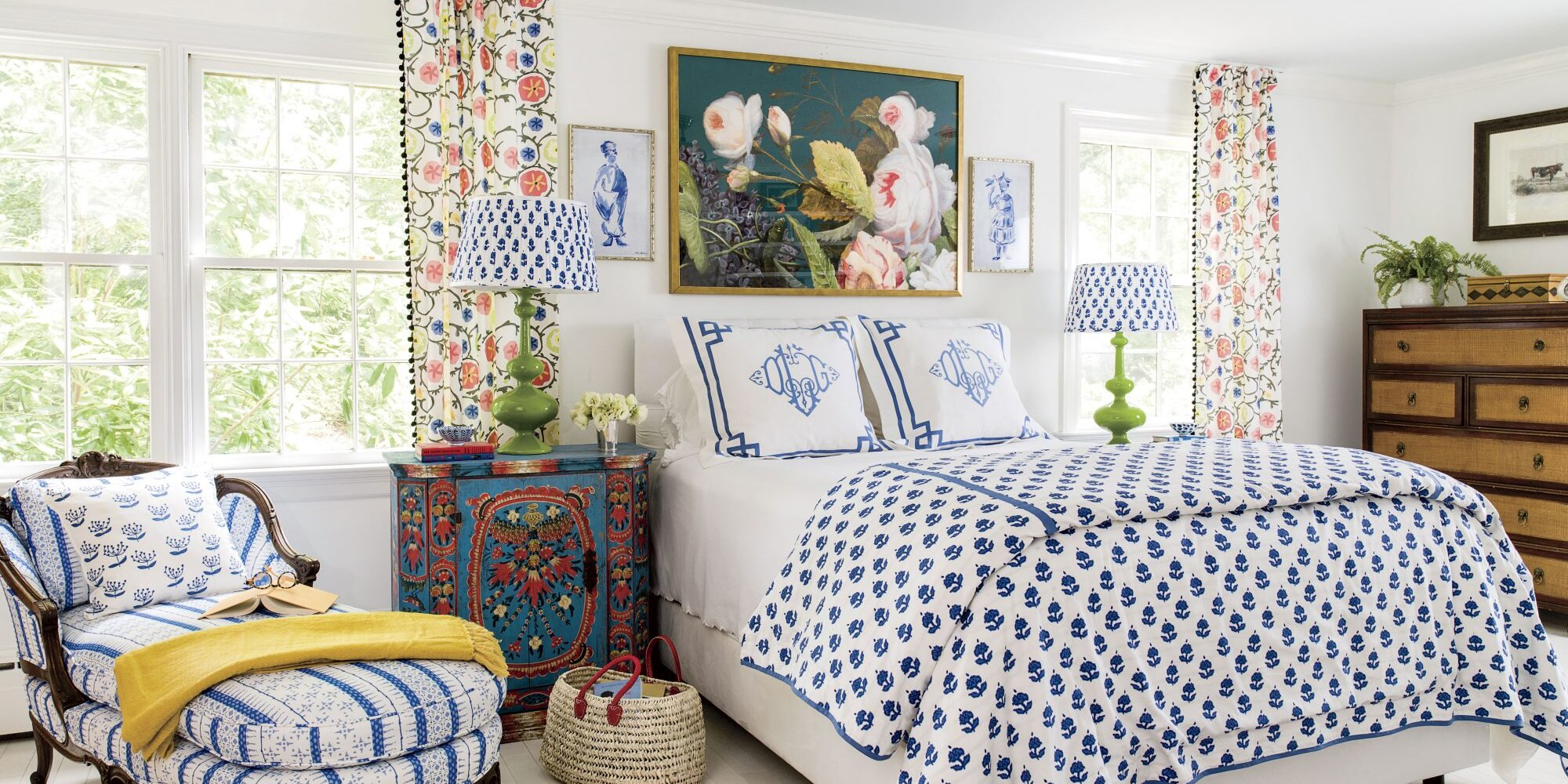 This Charming Makeover Proves Mixing is Better Than Matching With Color and Pattern