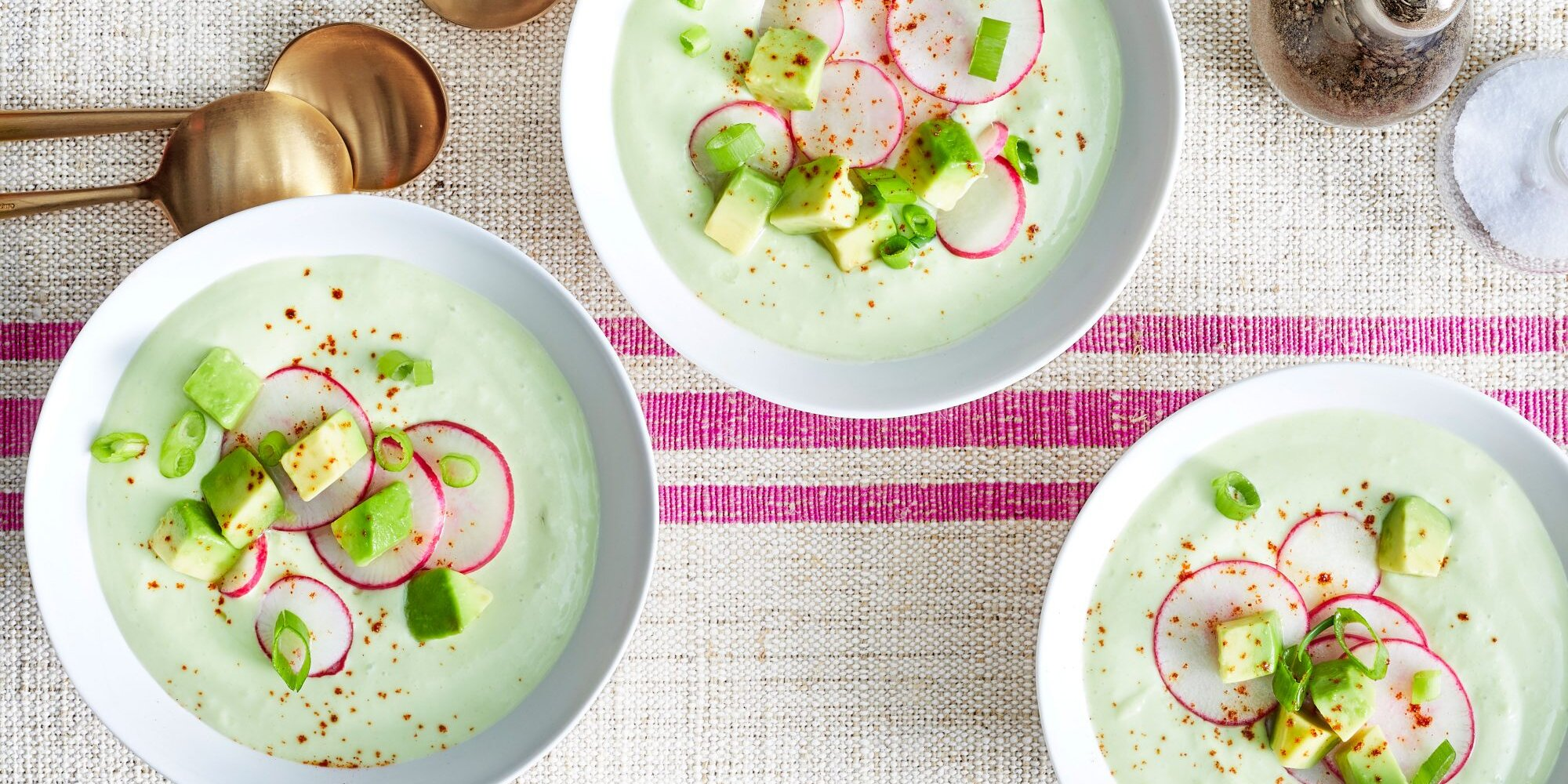 Chilled Radish-and-Avocado Soup