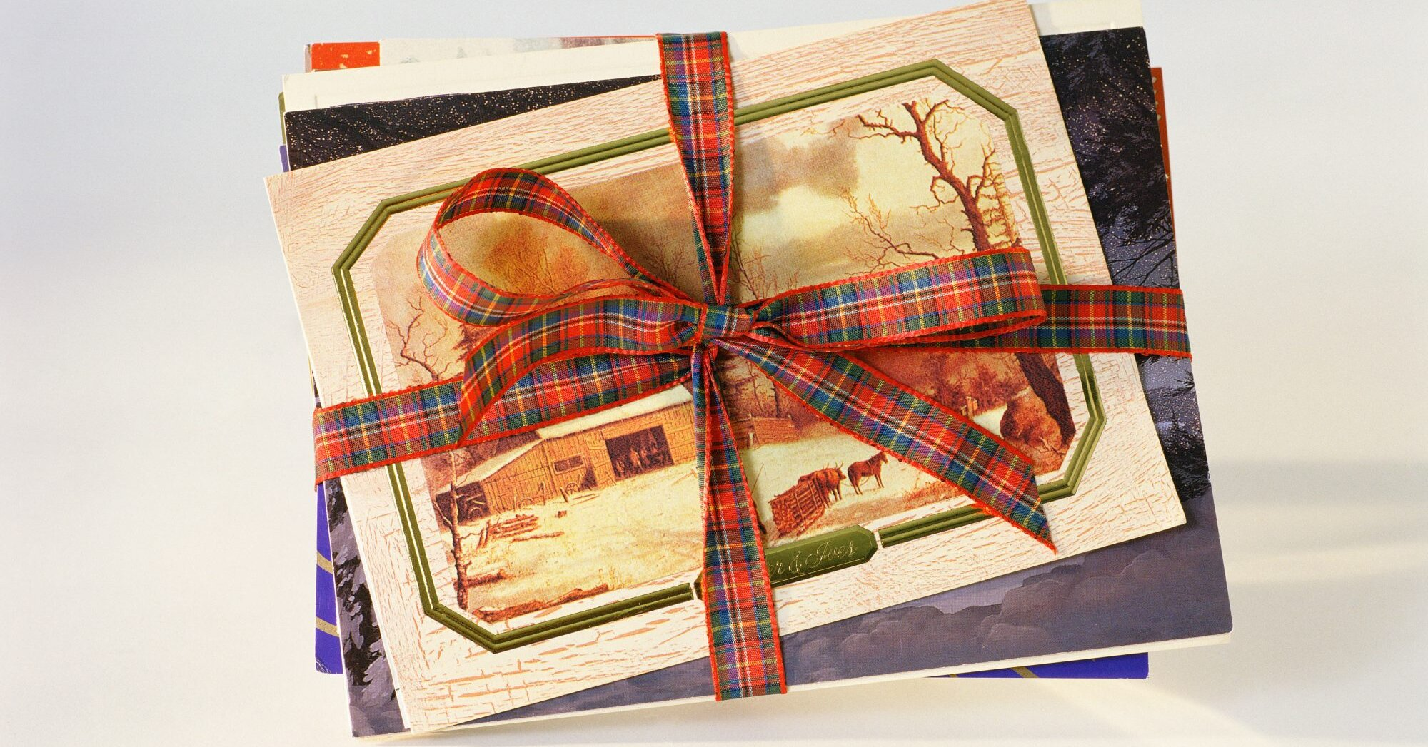 How To Organize Christmas And Holiday Photo Cards Southern Living